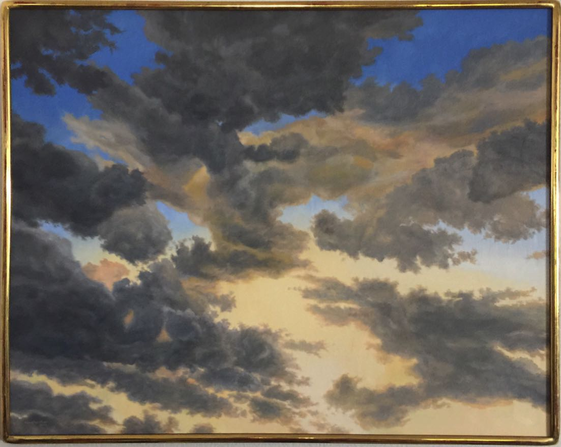 Dancing Clouds 37 x 47