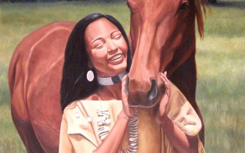 Thumbnail for Shoshone Horse
